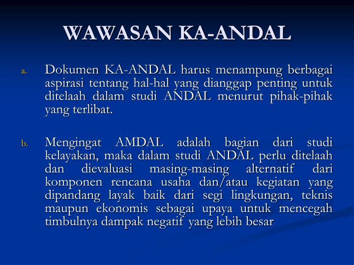 WAWASAN KA-ANDAL