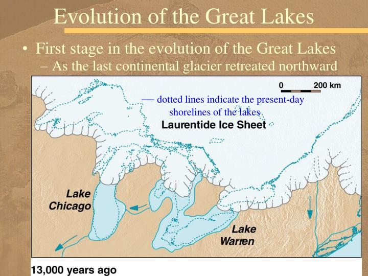 Evolution of the Great Lakes