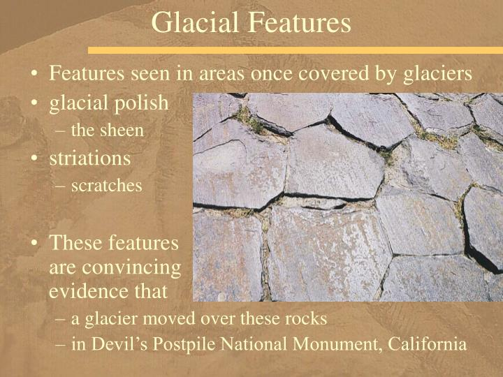 Glacial Features