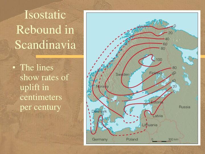 Isostatic Rebound in Scandinavia