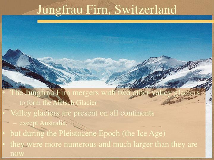 Jungfrau Firn, Switzerland