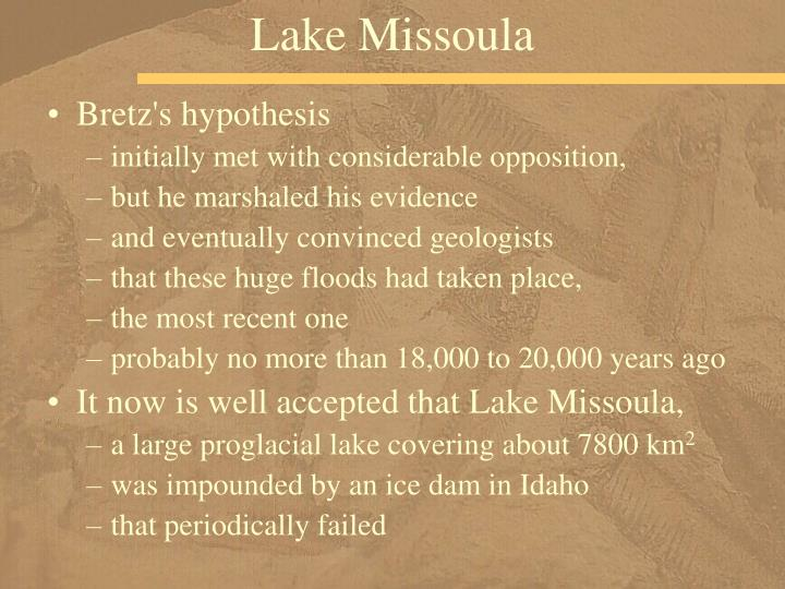 Lake Missoula