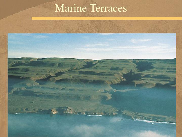 Marine Terraces