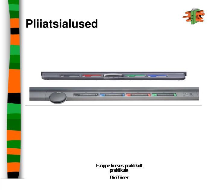 Pliiatsialused