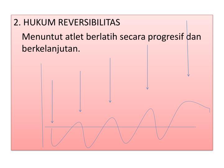 2. HUKUM REVERSIBILITAS