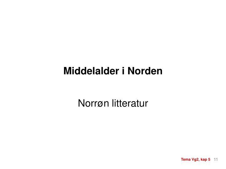 Middelalder i Norden