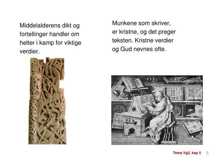 Middelalderens dikt og