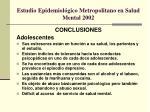 estudio epidemiol gico metropolitano en salud mental 20023
