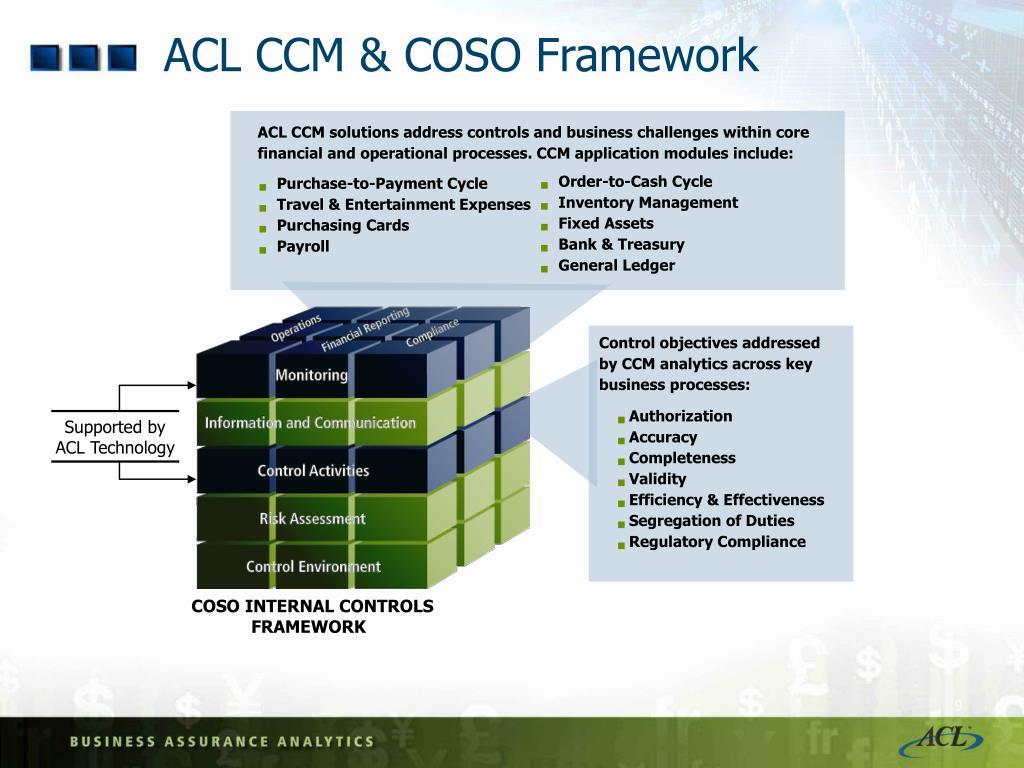 ACL CCM & COSO Framework