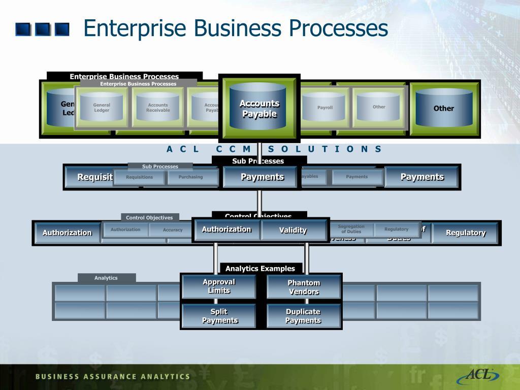 Enterprise Business Processes