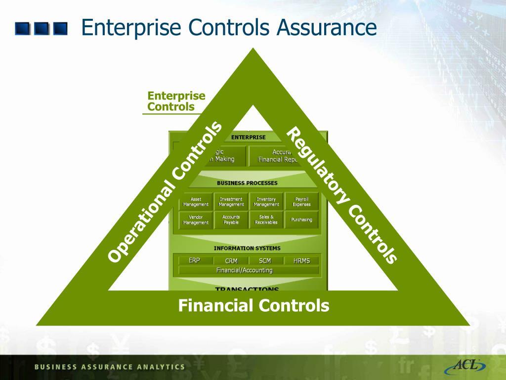 Enterprise Controls Assurance