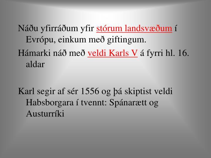 Náðu yfirráðum yfir