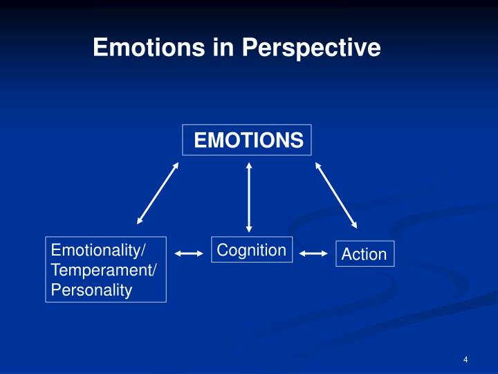 Emotions in Perspective