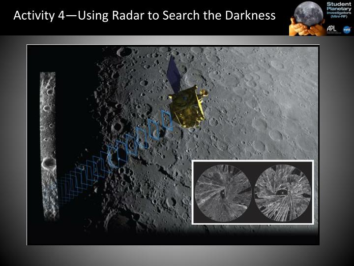 Activity 4—Using Radar to Search the Darkness