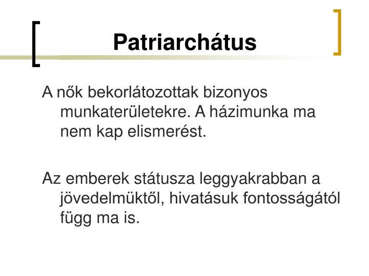 Patriarchátus