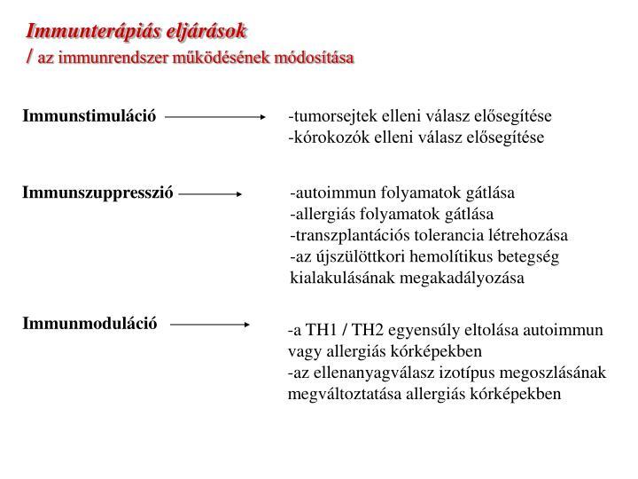 Immunstimuláció