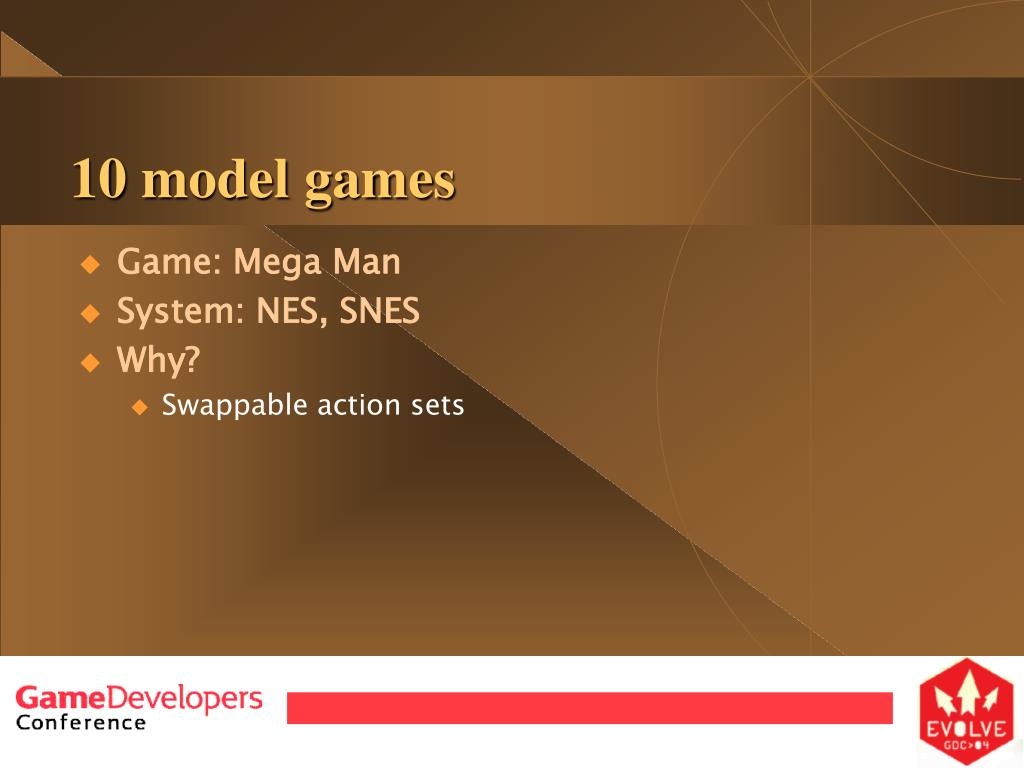 10 model games