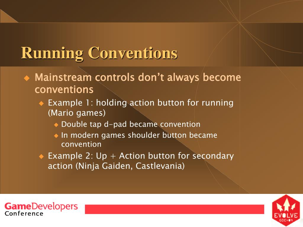 Running Conventions