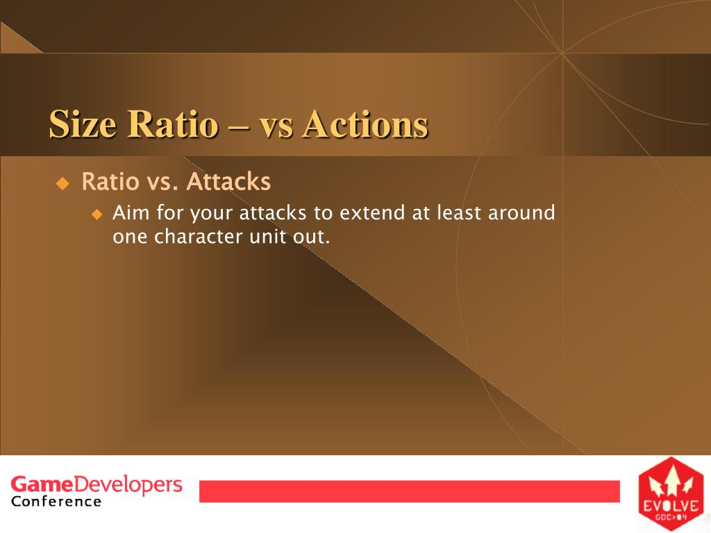Size Ratio – vs Actions