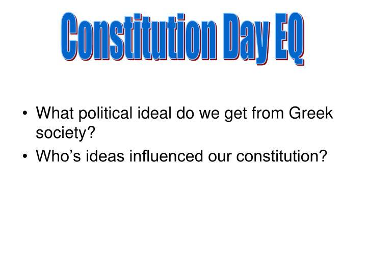 Constitution Day EQ