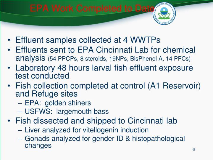 EPA Work