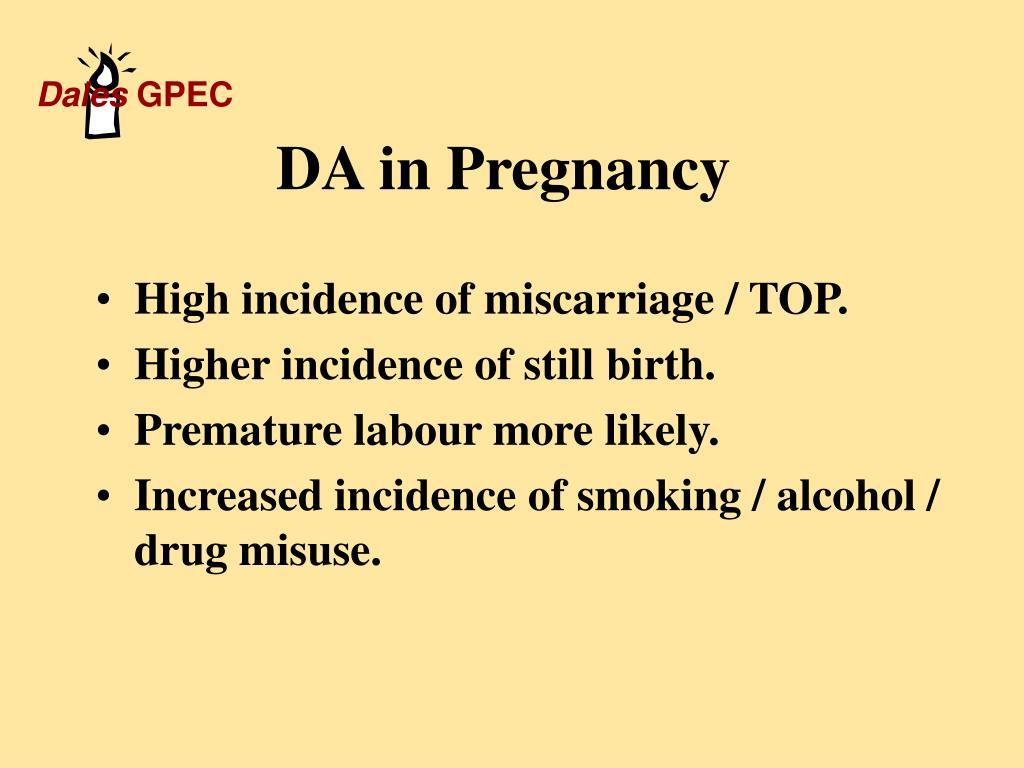 DA in Pregnancy