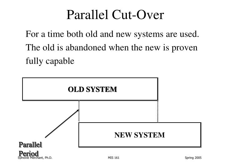 Parallel Cut-Over