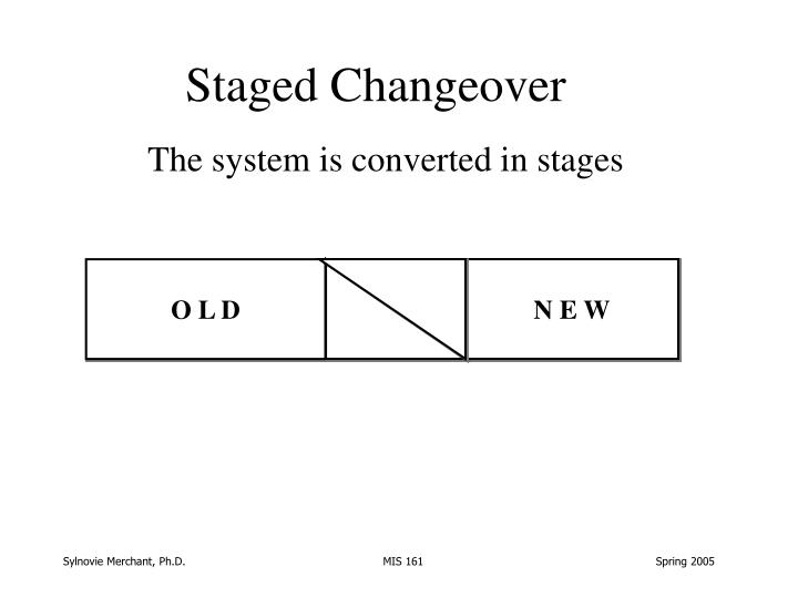 Staged Changeover