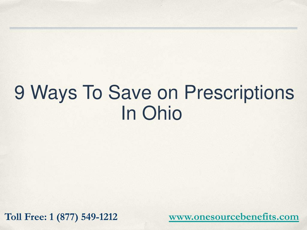 9 Ways To Save on Prescriptions