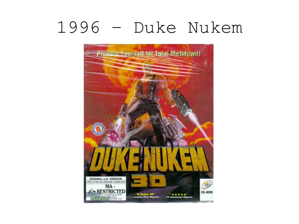 1996 – Duke Nukem