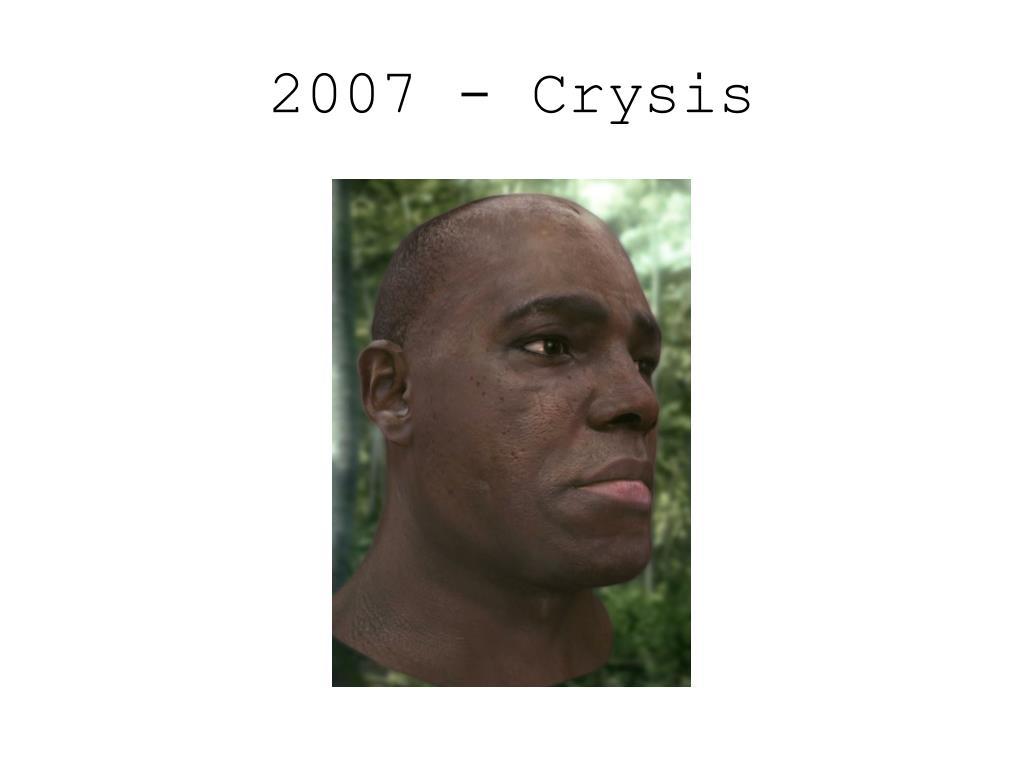 2007 - Crysis