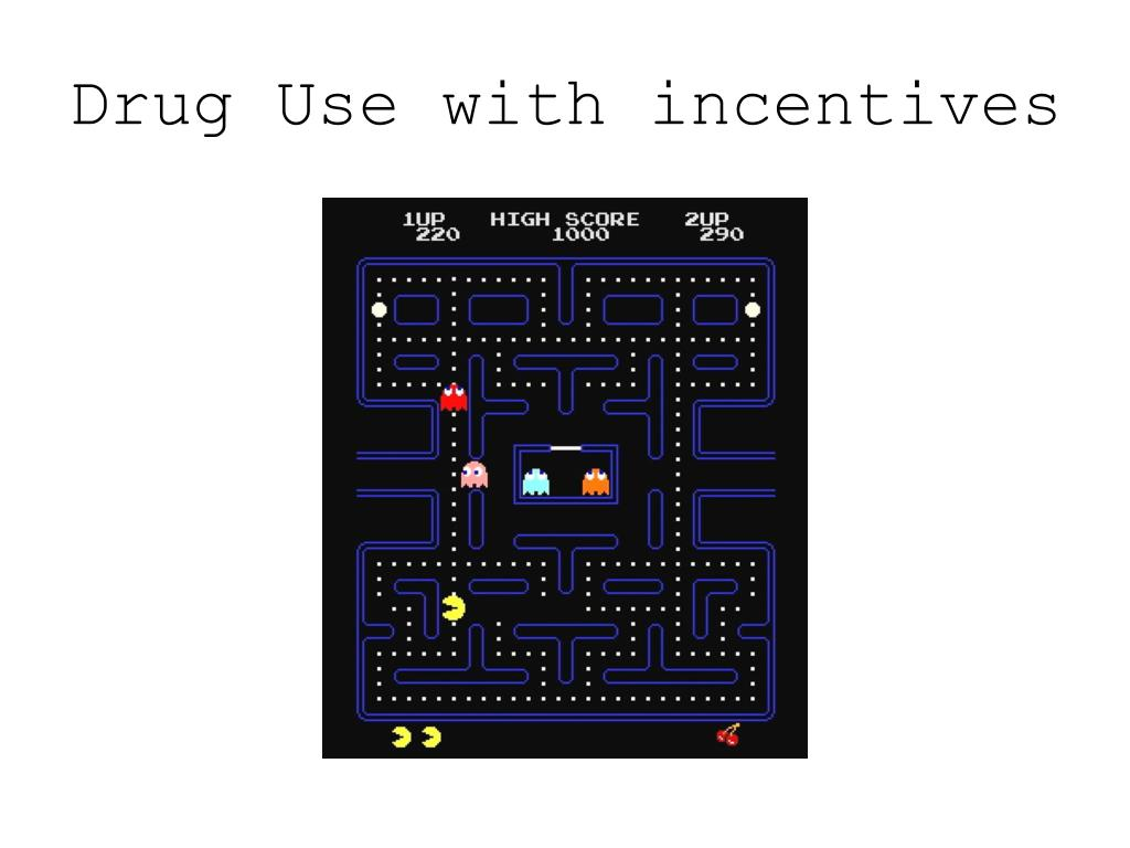 Drug Use with incentives