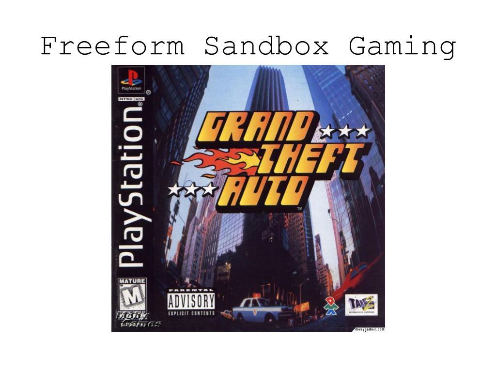Freeform Sandbox Gaming