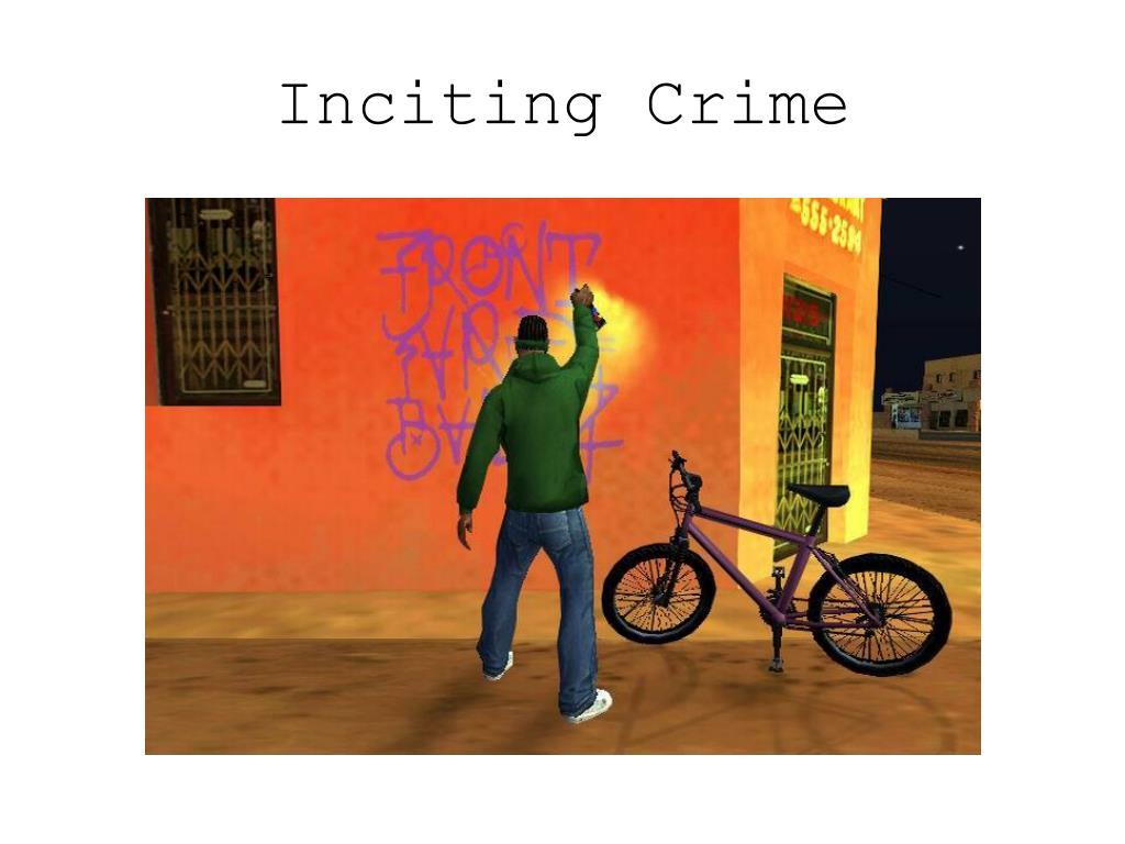 Inciting Crime