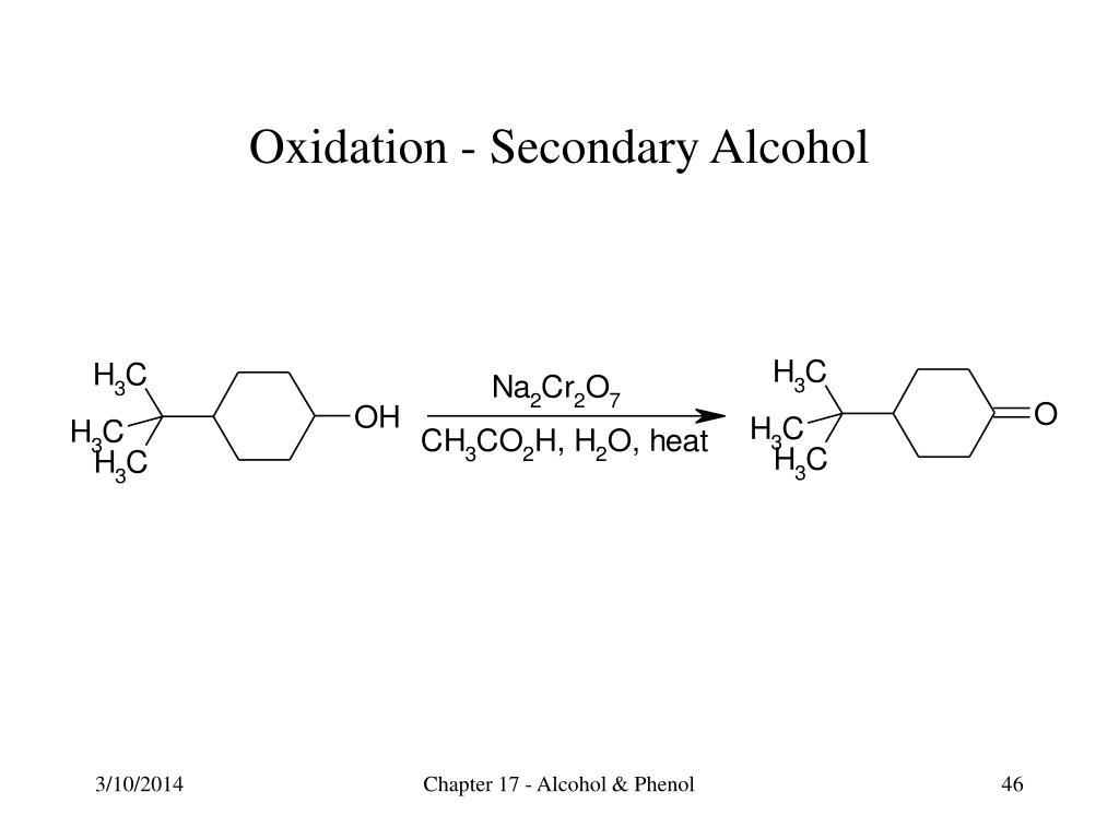 Oxidation - Secondary Alcohol
