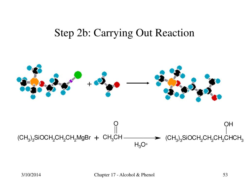 Step 2b: Carrying Out Reaction