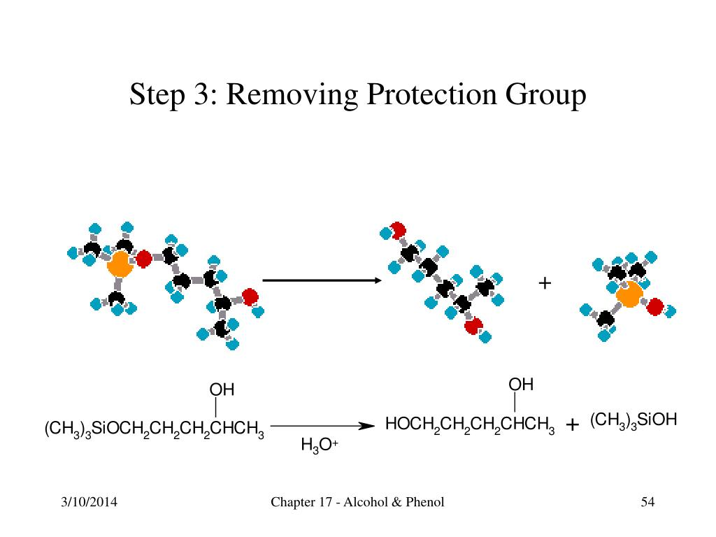 Step 3: Removing Protection Group