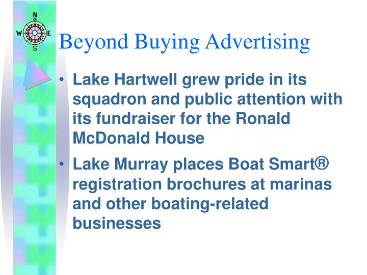 Beyond Buying Advertising