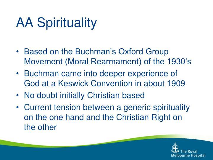 AA Spirituality