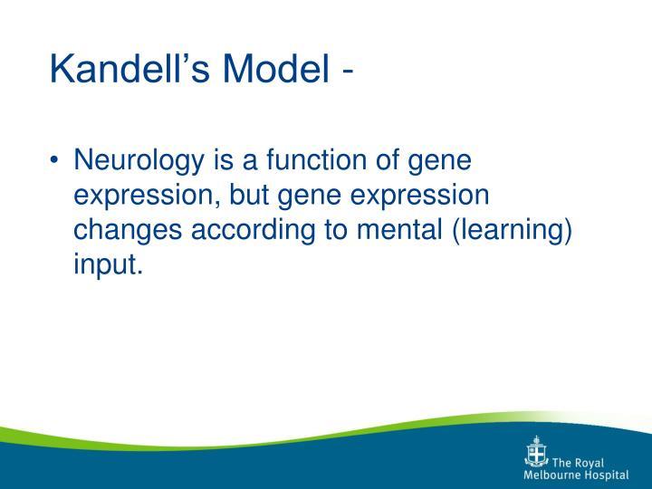 Kandell's Model -