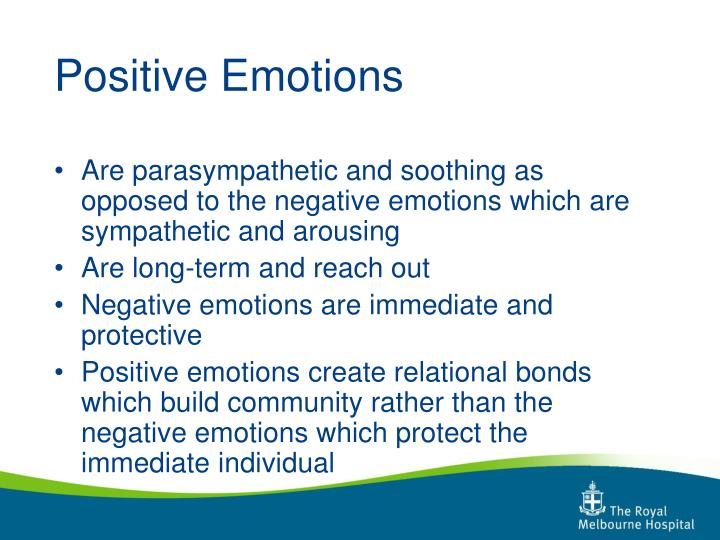 Positive Emotions