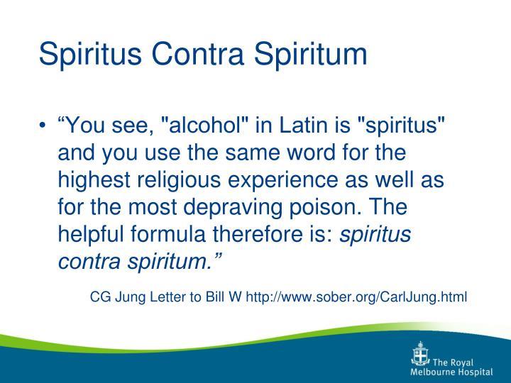 Spiritus Contra Spiritum
