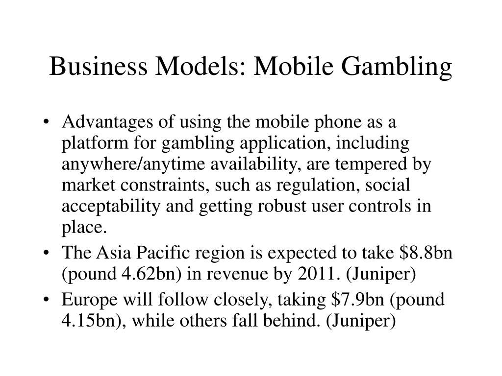 Business Models: Mobile Gambling