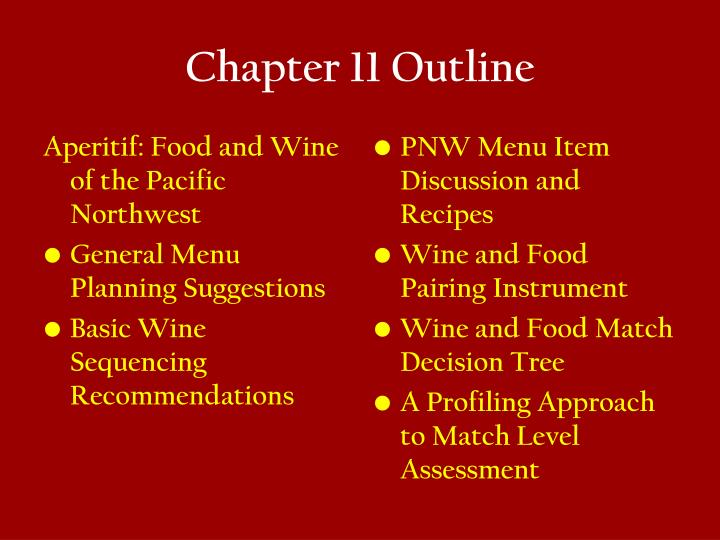 Aperitif: Food and Wine of the Pacific Northwest