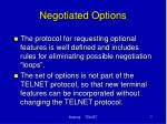 negotiated options1