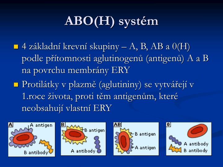 ABO(H) systém