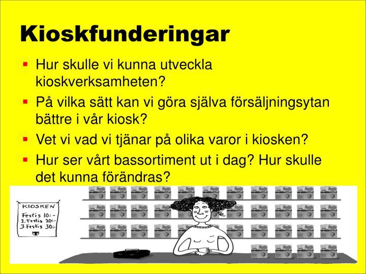 Kioskfunderingar