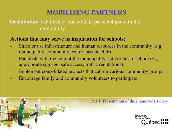 MOBILIZING PARTNERS