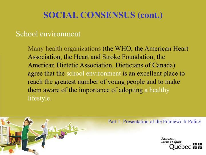 SOCIAL CONSENSUS