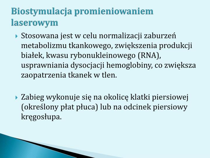 Biostymulacja